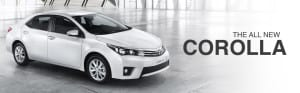 New Toyota Corolla in Witbank-Johannesburg